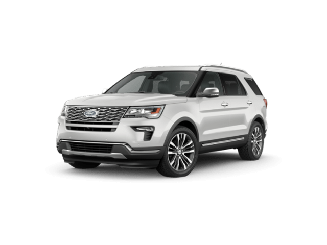 New 2019 Ford Explorer Platinum 4WD SUV Medford, OR